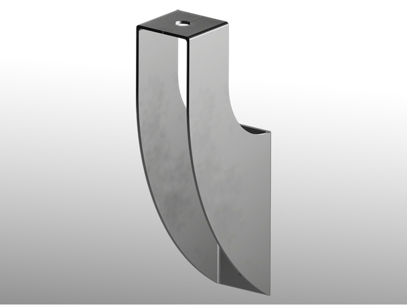 Guide rail bracket - Part.441